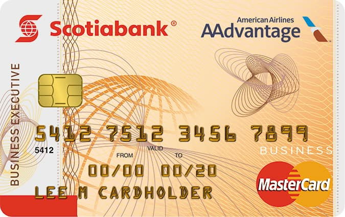 Scotiabank / AAdvantage Business® Executive MasterCard®