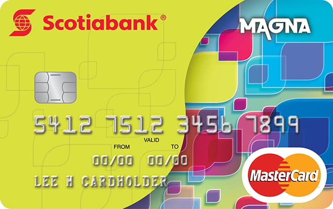 Magna Mastercard Credit Card Earn Rewards Points Scotiabank Jamaica