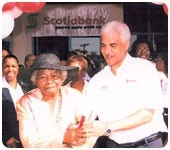 Scotiabank Mandeville celebrates 100th anniversary